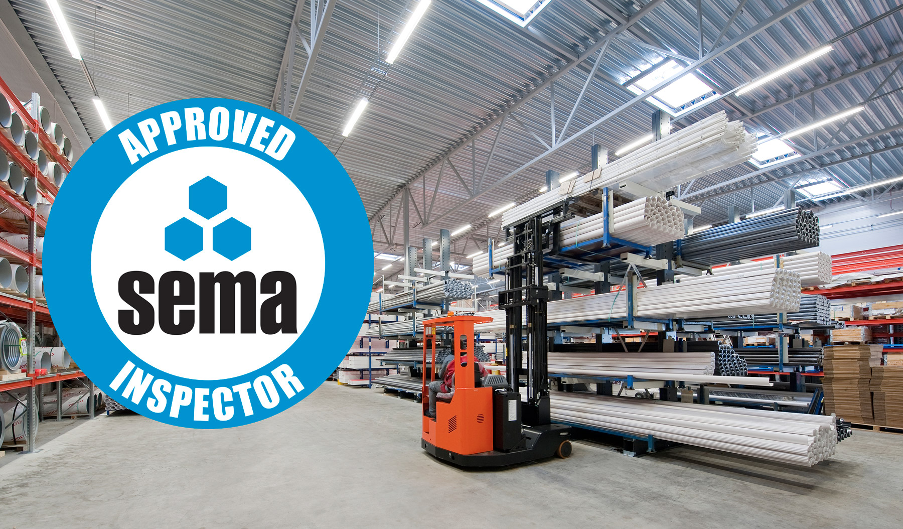 SEMA Approved for Cantilever Rack Inspections